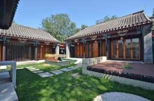 京郊四合院出售,北京私产四合院民宿出租
