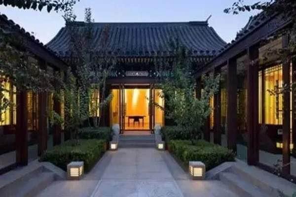 北京四合院民宿出售,京郊半山徽派四合院